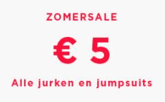 ZomerSale bij Mango jurken en jumpsuits voor €5