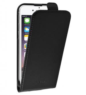 Azuri flip tasje - leder - zwart - voor Apple iPhone 6plus voor €1,95