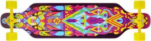 StreetSurfing Freeride 39 Robot Longboard 99 x 25 cm geel voor €21,99