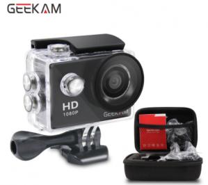 GEEKCAM 720 P HD Actie camera voor €12,14 via de app