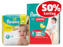 Pampers New Baby en Premium Protection met 50% korting