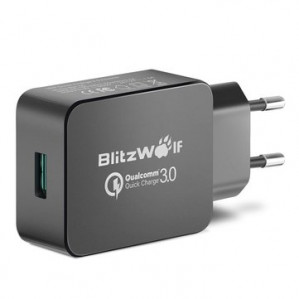 BlitzWolf® BW-S5 QC3.0 18W USB oplader voor €5,95