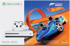 Xbox One S Forza Horizon 3 Hot Wheels console - 500 GB met Fifa 18 voor €249