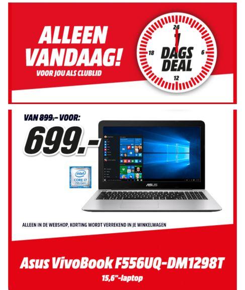 ASUS VivoBook F556UQ-DM1298T voor €699