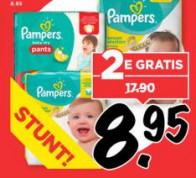 Pampers 2e gratis vanaf 13 juli