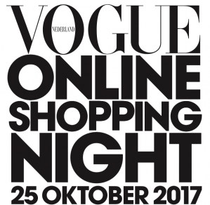 VOGUE Online shopping night met kortingen tot 40%
