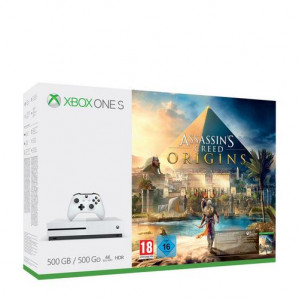 Xbox One S Assassin's Creed Console - 500 GB voor €199