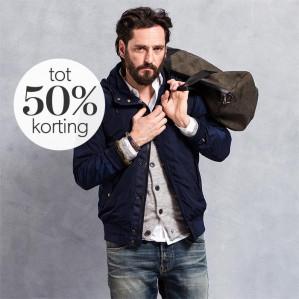 Wehkamp sale tot 50% korting op alles voor de man