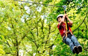 Dagje klimmen door de bossen bij Fun Forest voor €11
