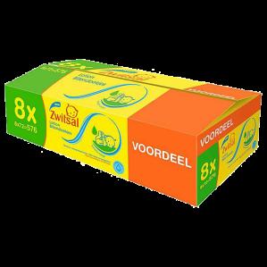 Zwitsal billendoekjes lotion XL voordeelverpakking  8x72 stuks voor €12,98