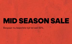 Adidas Mid Season Sale met kortingen tot -50% zijn begonnen ( NU +20% EXTRA korting )