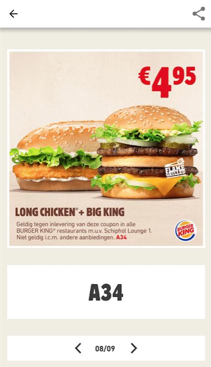 Alle Burger King Gutscheine im Februar 12222