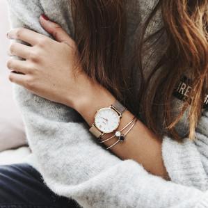 Jaarabonnement Glamour magazine + horloge van Cluse voor €32,50