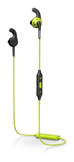 Philips SHQ6500 - Bluetooth sportoordopjes - Groen voor €44