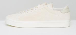 adidas Originals Court Vantage Sneakers In Brown voor €33,36
