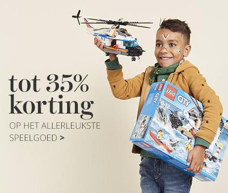 Wehkamp tot 35% korting op speelgoed van Lego en Playmobil