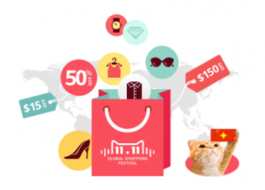 Global Shopping Festival met kortingen tot 50%