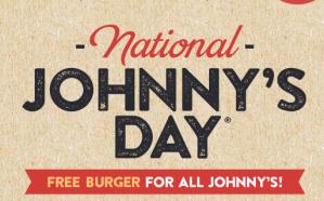 Gratis Hamburger bij Johnny's Burger voor alle Johnies