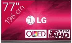 """LG 77G6V 77"""" 4K Ultra HD 3D Smart TV Wi-Fi Zwart LED TV voor €8.999,99"""