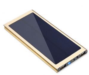 Ultra Slim LED powerbank op zonne-energie  voor €11,64
