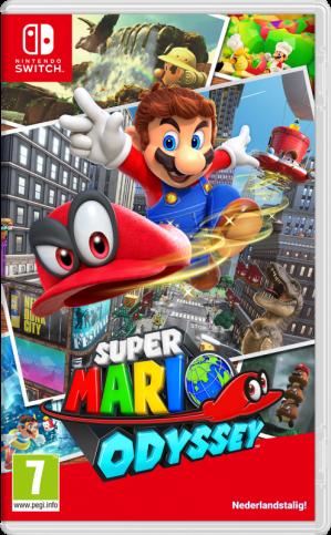 Super Mario Odyssey (+ Lanyard) voor €44,50 dmv code