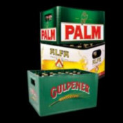 Palm, Alfa en Dommelsch  kratten bier (24st) voor €7,35