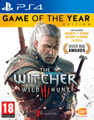 The Witcher 3: Wild Hunt - Game of The Year Edition - PS4 voor €19,99