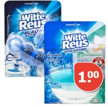 Witte Reus Toiletblok Alle varianten voor €1
