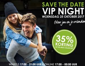 VIP NIght met 35% korting
