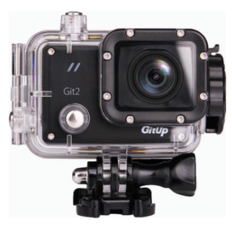 GitUp Git 2 Pro waterproof WiFi action camera voor €76,03 d.m.v code