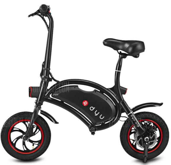 DYU Electric Bike  -  BLACK  voor €223,31