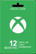 Xbox Live Gold 12 maanden voor €38,95