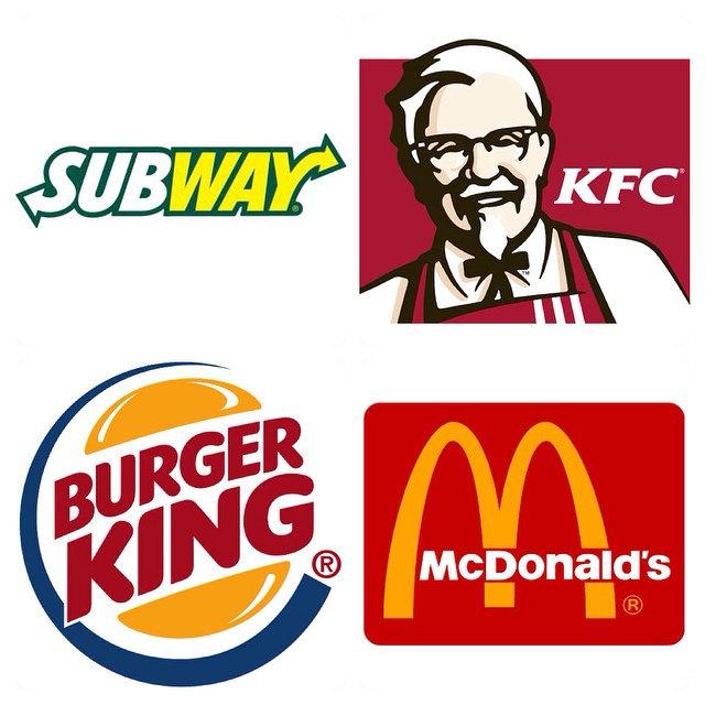 Fastfood restaurants