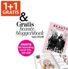 Diverse artikelen 1+1 gratis + gratis blogger beautyboek
