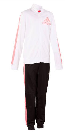 adidas meisjes Trainingspak wit roze voor €14,99