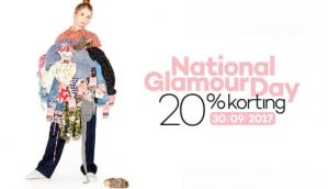 20% korting tijdens de National Glamour Day