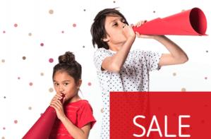 70% korting op merkkleding en -schoenen voor kids