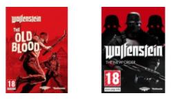 Wolfenstein: The Old Blood of Wolfenstein: The New Order voor €3,41 / €3,98
