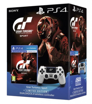 Gran Turismo Sport + DualShock 4 GT Edition | PlayStation 4 voor €80,61