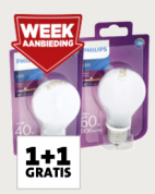 Philips LED-Lampen 1+1 Gratis