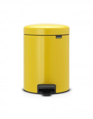 Brabantia newIcon Prullenbak - 5 l - Daisy Yellow voor €20,96
