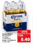 6-Pack Corona Extra (6x 0,355L) voor €5,40