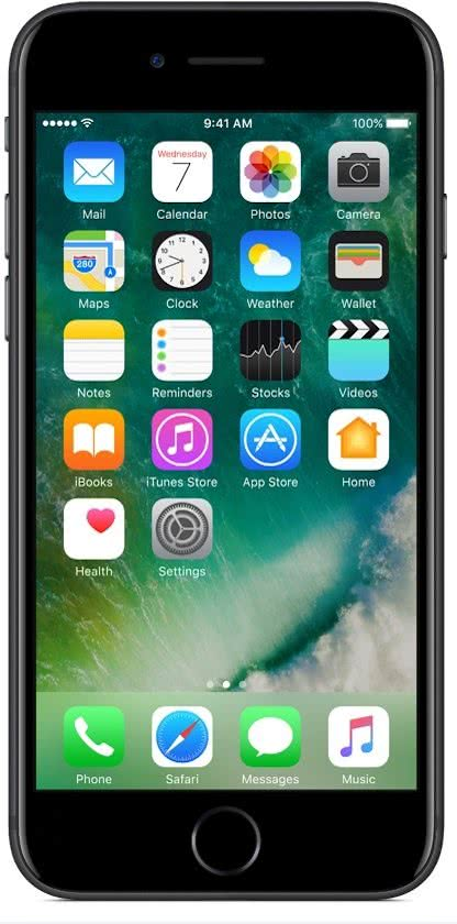 Apple iPhone 7 - 32 GB - Spacegrijs voor €599