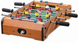 Houten voetbaltafel tafelmodel voor €9,95
