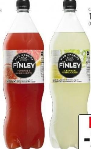 Finley fles van 1 liter gratis af te halen bij Plus