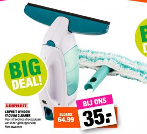 Leifheit Window Vacuum Cleaner voor €35