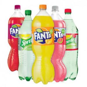Fanta of Sprite 1.5 literflessen voor €0,99