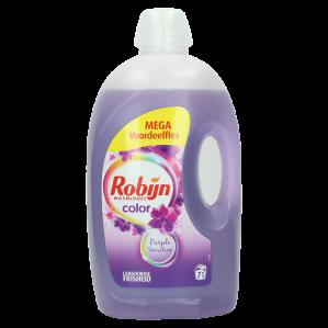 2 stuks Robijn Color Wasmiddel Vloeibaar Purple Sensation voor €19