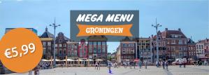 Diverse menu's voor €5,99