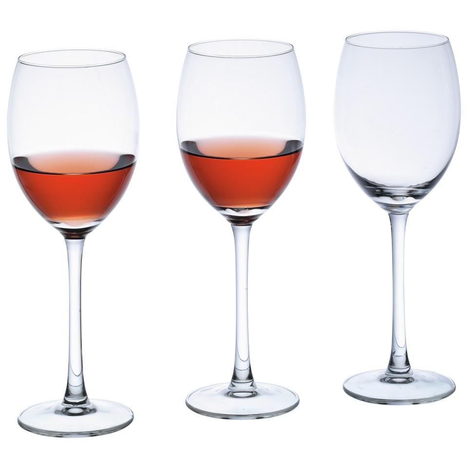 Royal Leerdam Wijnglazen.Royal Leerdam Witte Wijnglazen Set Style 3 Stuks Voor 3 50
